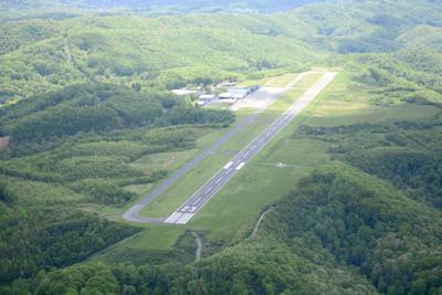 Mercer Co. Airport aerial
