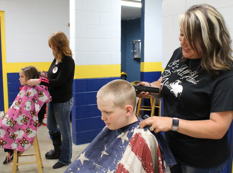 Little Indians Get Haircuts Courtesy Of Volunteer Stylists Local
