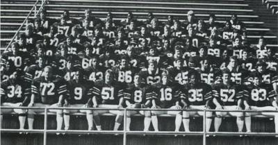 1984 WVIAC Championship Football Team