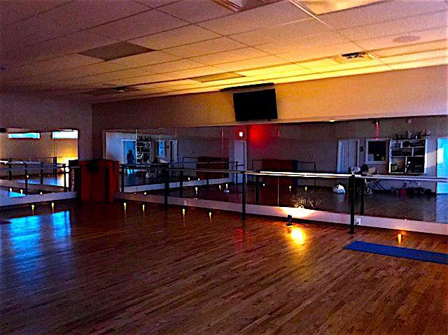 Yoga studio...