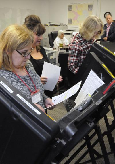 Testing voting machines