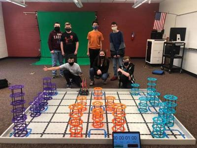 2021 PikeView MS robotics team
