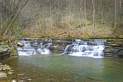 The Campbell waterfall