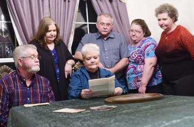 Family honoring Vietnam soldier