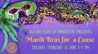 Rotarians seek support for Mardi Bras for a Cause
