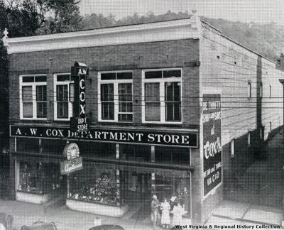 A.W. Cox Department Store in Hinton