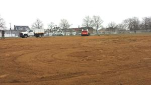 Frank Charles Park ball field is repaired 1