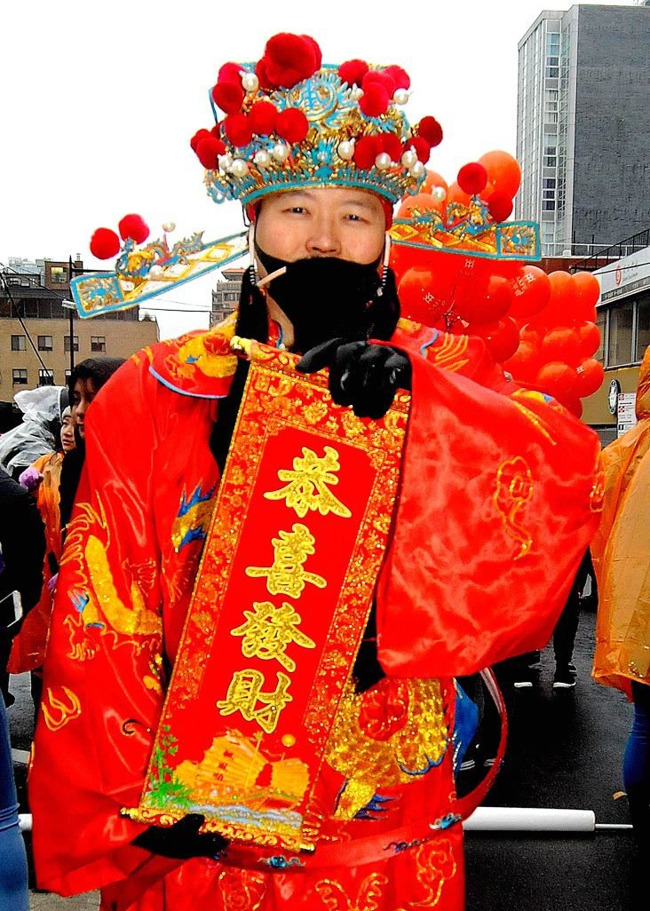Won't let it rain on Lunar New Year Parade 1