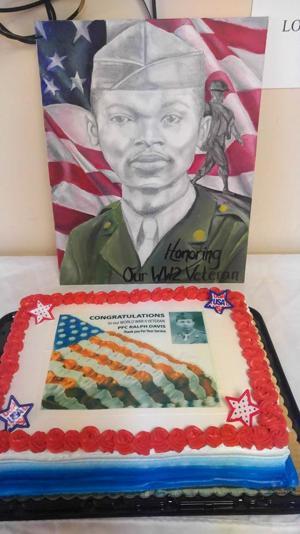 World War II veteran honored 3