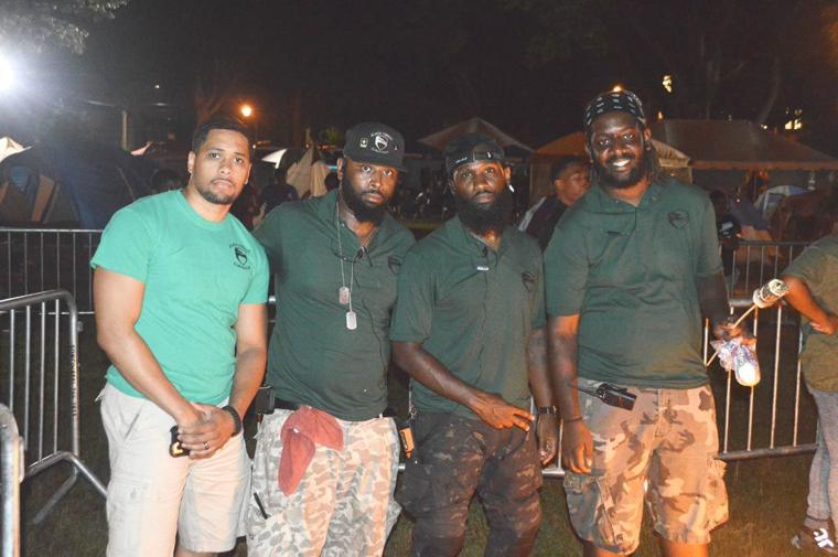Camping in the park with the NYPD 9