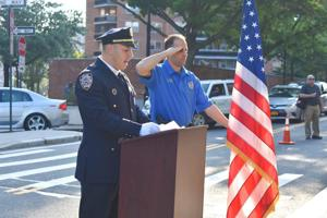 112th Pct. remembers 9/11 1