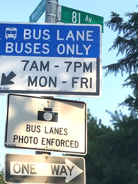 Unclear bus lane hours, unfair tickets for drivers 2