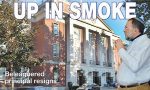 Principal at FHHS goes up in smoke 2