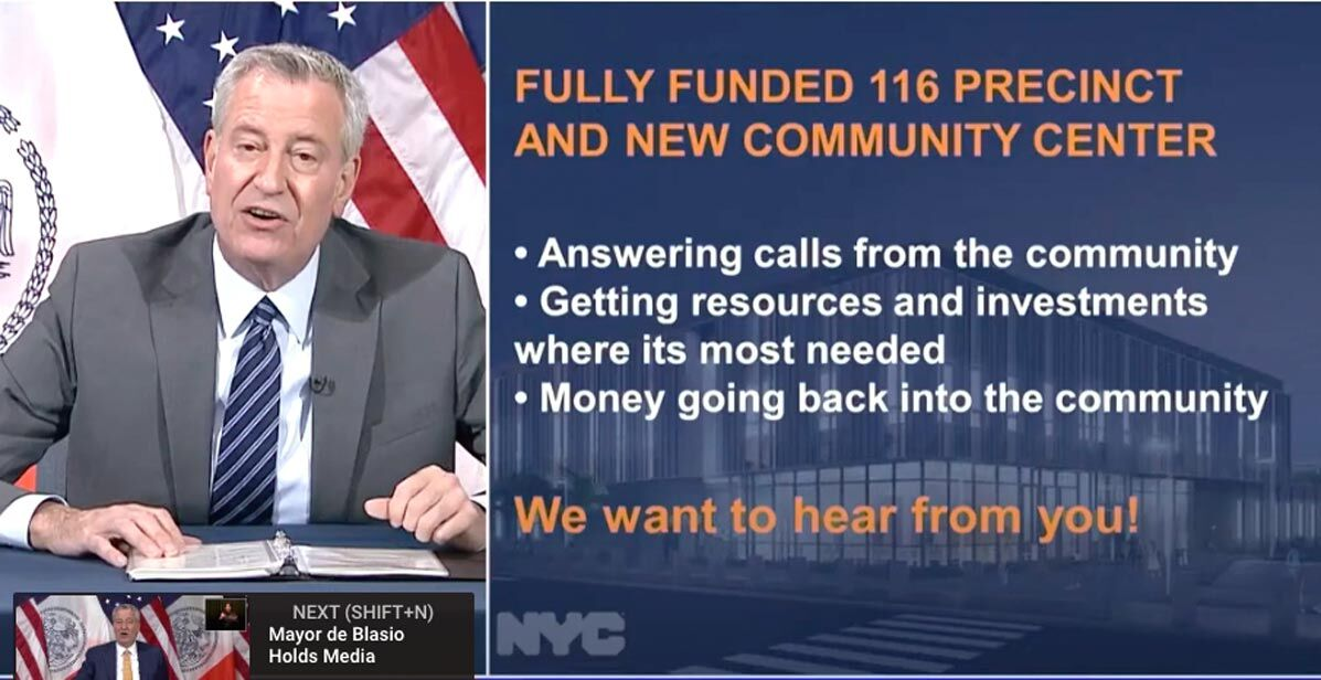 Mayor says city will fully fund 116th Pct. 2