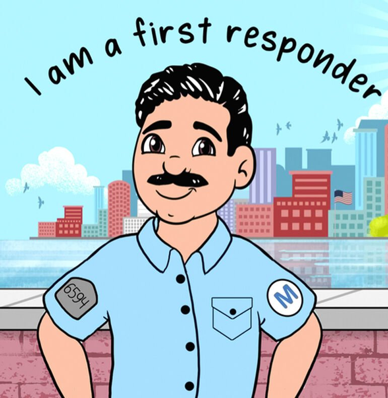 From first responder to first-time author 2