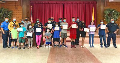 111th Precinct honors GetFit Camp trainees 1