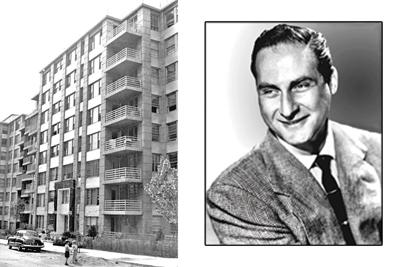 Funnyman was one of first Rego Park apt. tenants 1