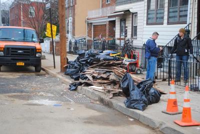 Astoria homes flood after main breaks 1