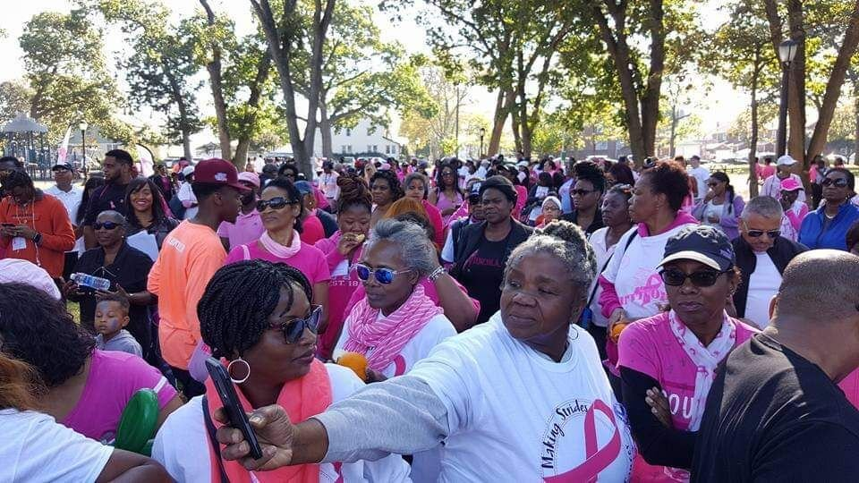 Breast cancer walk to be held Sunday
