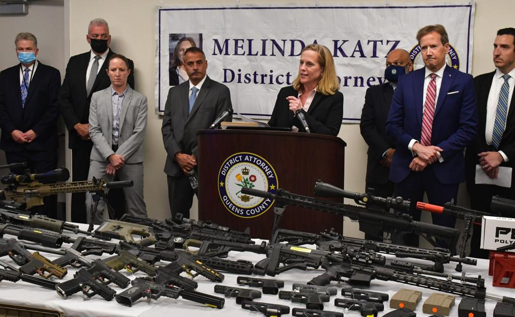 Arsenal of ghost guns seized in Richmond Hill - Queens Chronicle