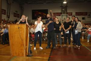 Maspeth erupts in protest of homeless shelter plan