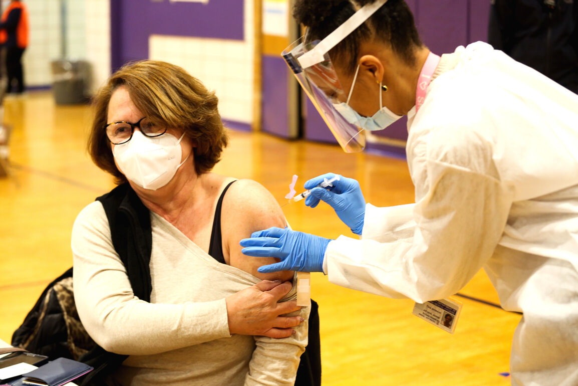 Queens opens its first vaccine hub 2