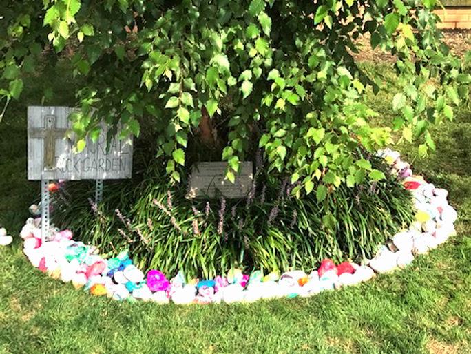 St. Helen Catholic Academy's September 11 Memorial Rock Garden 3