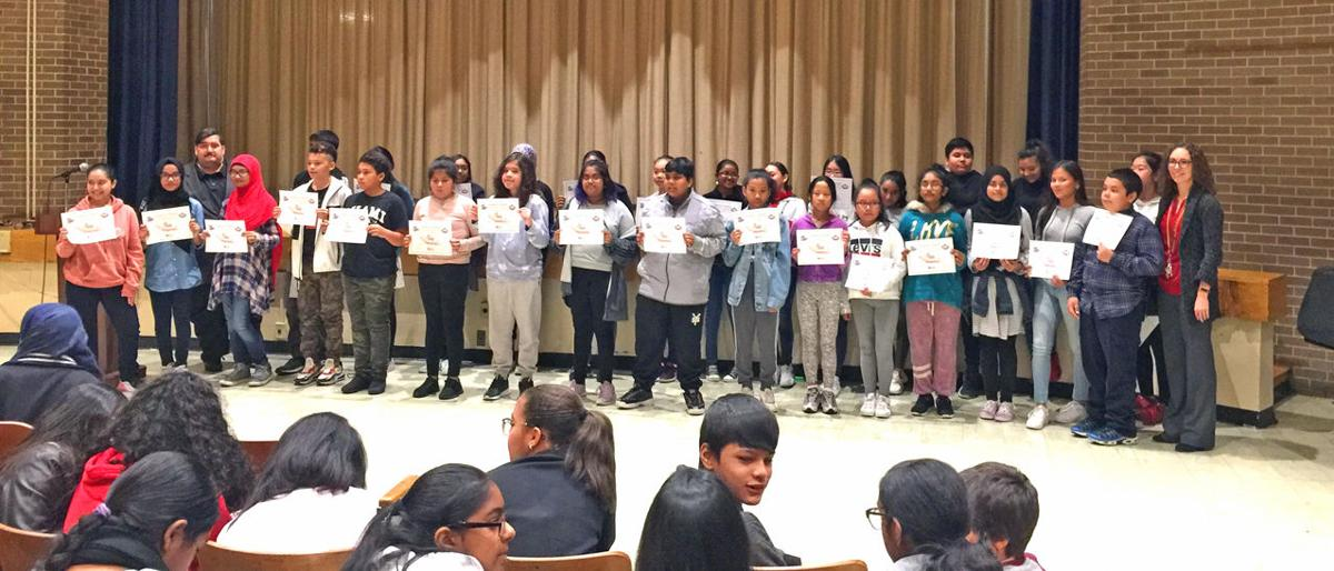 JHS 210's Summer Reading Challenge Winners 1