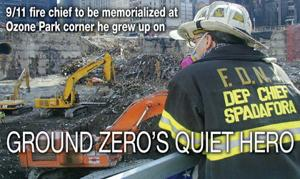 Ozone Park's 9/11 hero memorialized 1