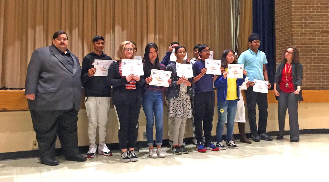 JHS 210's Summer Reading Challenge Winners 2