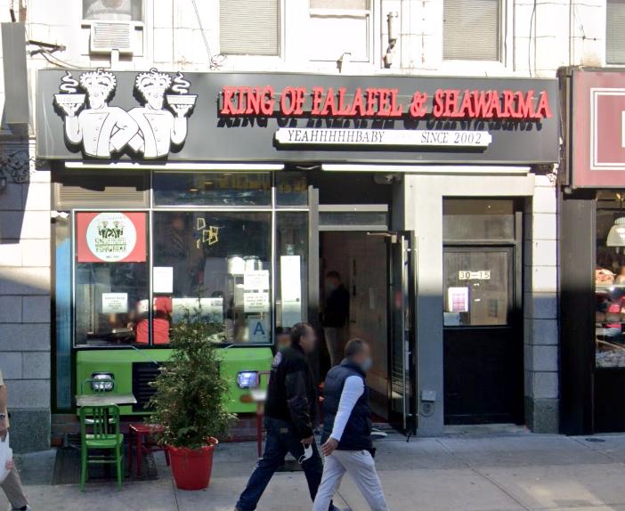 Astoria falafel shop besieged by pro-Saudi trolls