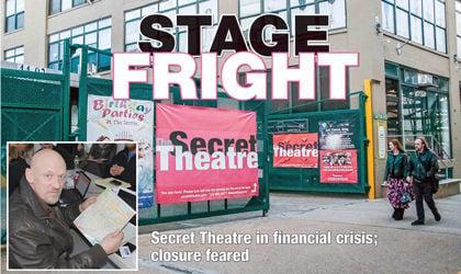 Secret Theatre in major cash crunch 1