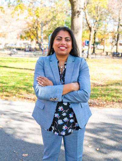 Syed's bid focuses on disenfranchised 1