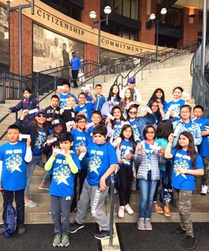 What a Home Run for PS 174 Students on Education Day 2