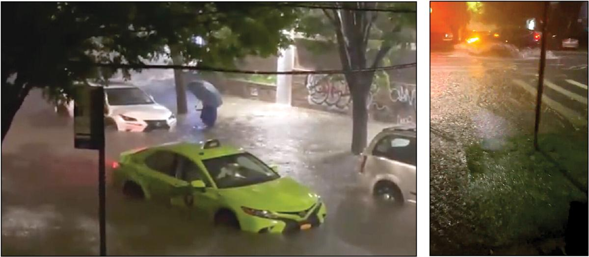 Vignettes from the storm, as Queens floods out 1