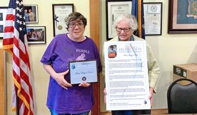 Longtime Electchester prez honored by state 1