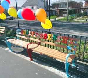 The Ps Ms 146 Buddy Bench Queens Chronicle South Queens