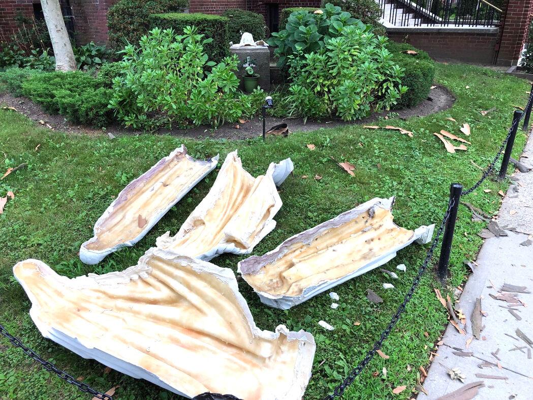 Arrest in church statue vandalism