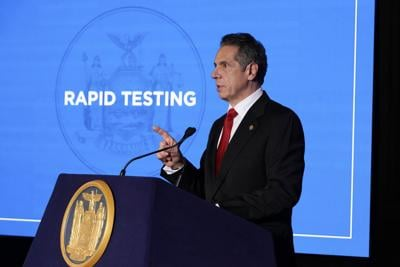 Cuomo talks Covid response, marijuana, sports betting in State of the State