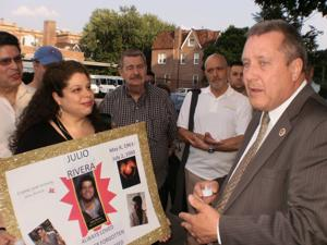 Jackson Heights honors Julio Rivera, slain 25 years ago
