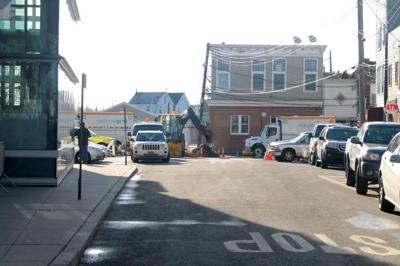 Residents fret over Coleman Sq. work