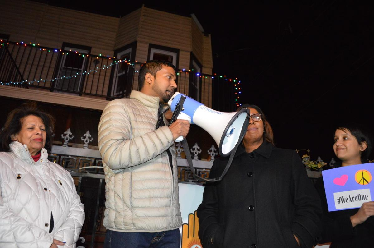 Woodhaven stands as one to condemn hate crime