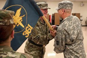 Passing of the guidon 1