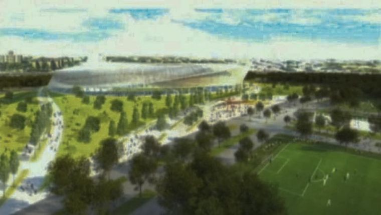 MLS soccer stadium rendering not the real deal, league says 1