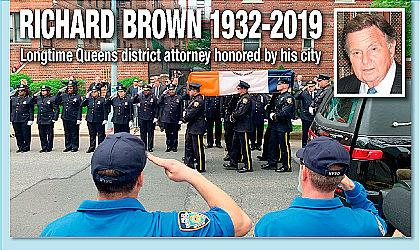 Tributes paid to longtime Queens DA 1