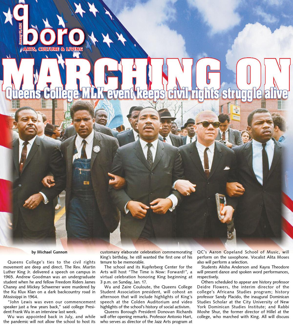Continuing MLK's legacy at Queens College 1