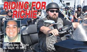 Ride remembers fallen 9/11 hero cover