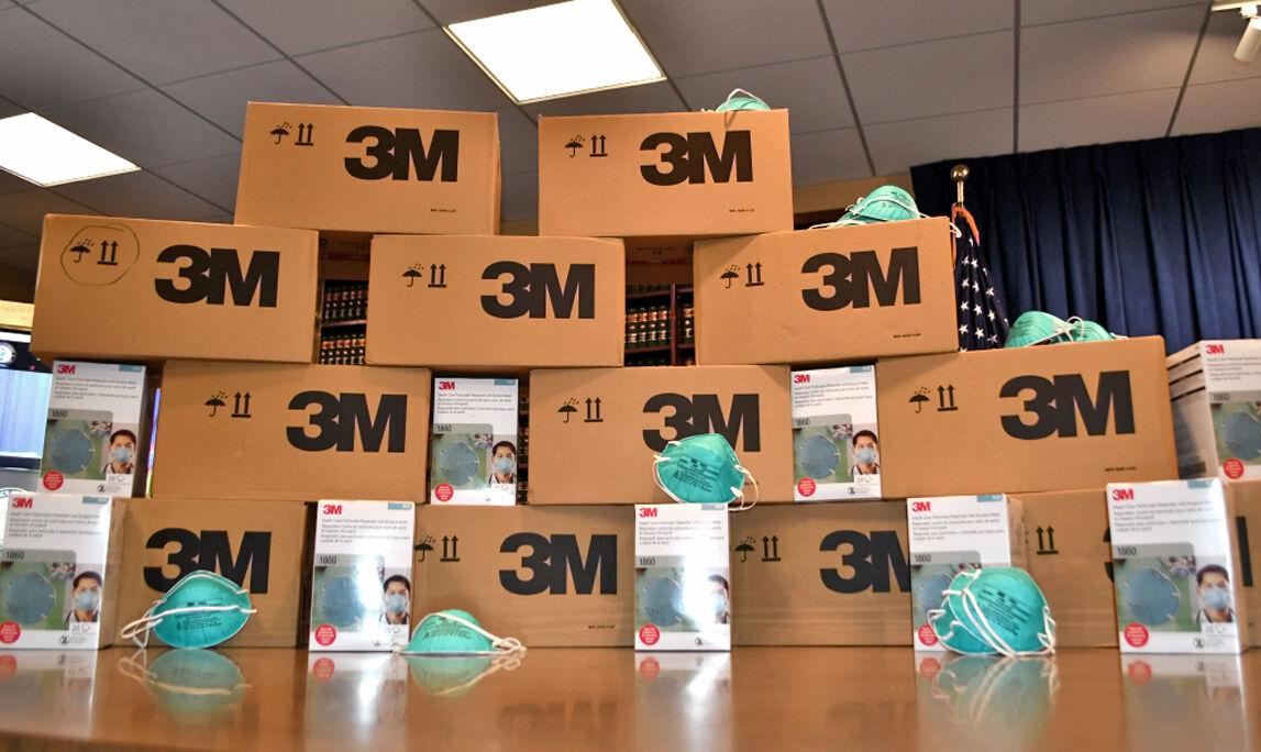 Counterfeit masks seized in warehouse 2