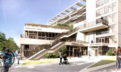 Kew Gardens garage could be sustainable 1
