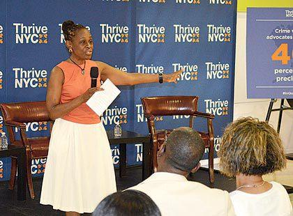 Mccray Talks Mental Health At Qns Library 1 Queens Chronicle
